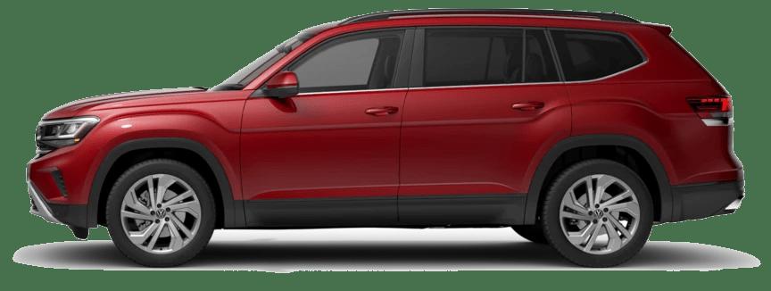 Volkswagen Teramont (Màu Đỏ Đô)