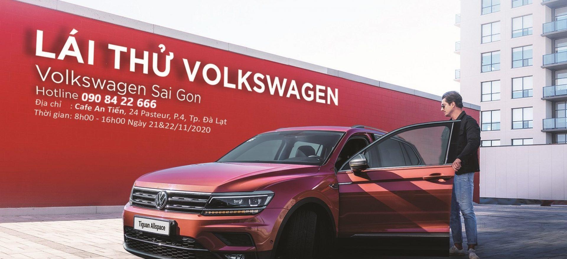 lai thu xe volkswagen tai thanh pho da lat - Volkswagen Sai Gon