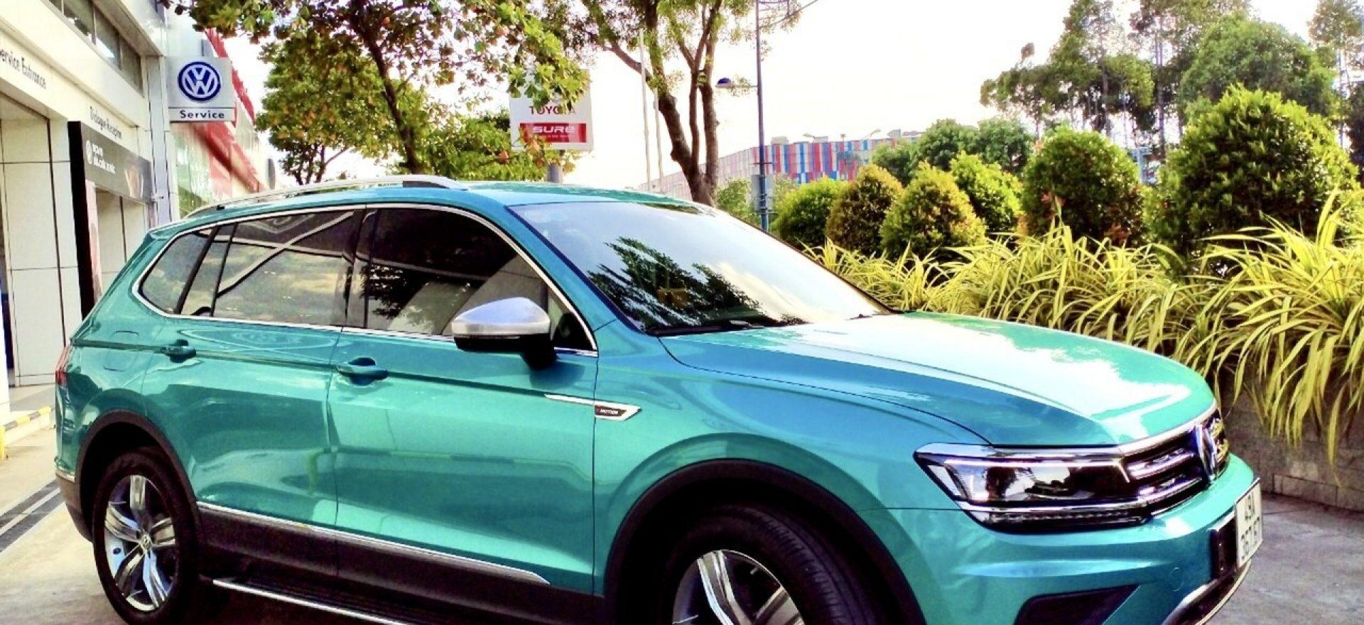 tiguan 2021 xanh ngoc luc bao - Volkswagen Sai Gon